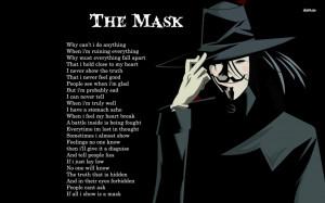 Anonymous mask wallpaper