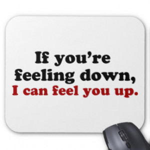 Sadness Quotes Mouse Pads