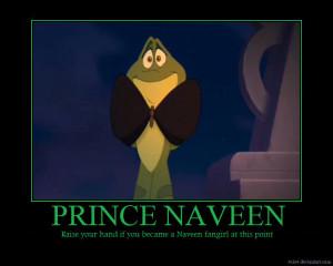 Disney Princess Naveen