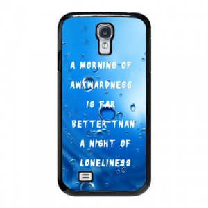 ... Hank Moody Quote Samsung Galaxy S4 Case - Hard Plastic Cell Phone Case