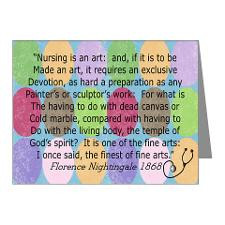 Florence Nightingale Quote Bag.PNG Note Cards for
