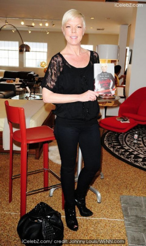 Tabatha Coffey at her book signing for 'It's Not Really About the Hair ...