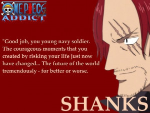 Red hair Shanks Friendship Quote Opheaven.blogspot.com