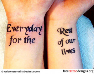 Twin Tattoo Quotes Celebrity Wrist Tattoos