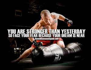 fear # quote # strong # mma # dream # motivation # motivational ...