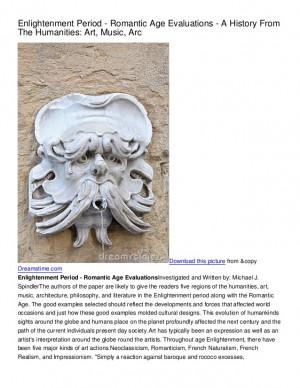 Enlightenment Period Architecture Enlightenment period