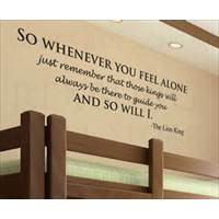 home alone quotes wall decal quote vinyl sticker art lettering letter ...