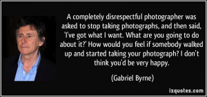 More Gabriel Byrne Quotes