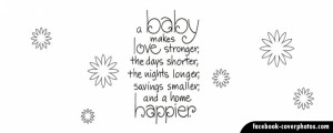 Pregnancy Quote 2 Facebook Cover