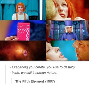 the fifth element equals perfection