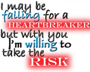 Take The Risk Before I Met You
