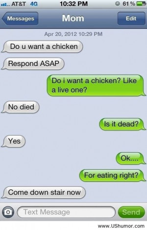 My funny mom in conversation US Humor - Funny pictures, Quotes, Pics ...