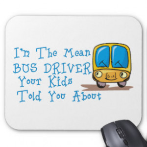 Funny School Bus Sayings Gifts