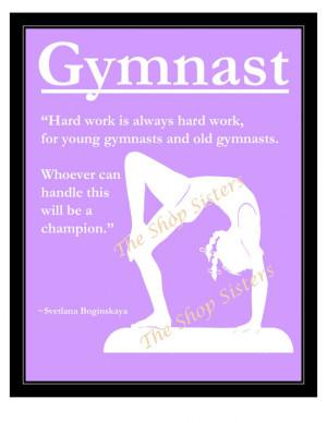 Gymnastics Quotes And Poems Gymnastics girl olympics