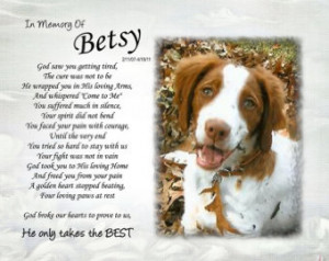 ... photo He only takes the BEST .. cat dog Pet loss sympathy Pet lover