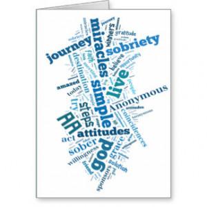 Sobriety Birthday/Anniversary Card