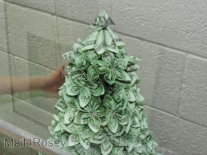 who says money doesn t grow on trees origami money tree someone ...