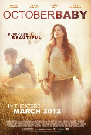 Rachel Hendrix, Jason Burkey - October Baby Movie Poster