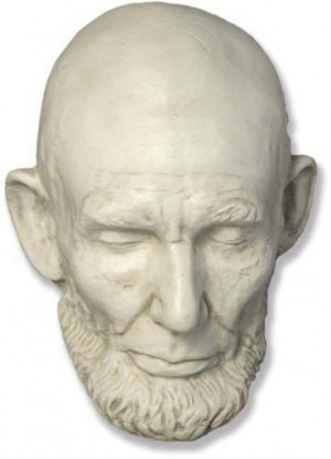 Life And Death Masks Of Famous People Life and death masks on