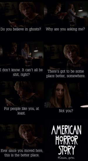 ... Quotes, American Horror Stories, Tate Langdon Quotes, 9851800, Tate