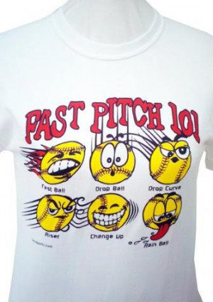 Fastpitch Softball T Shirts With Sayings Picture