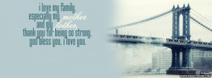 Facebook Covers With Quotes About Family