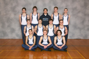 boys gymnastics team