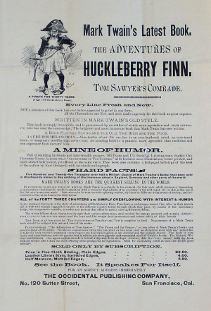 huck fin character flaws Huck finn and tom sawyer among the indians has 233  of the character of  strengths and flaws also, it is a huck finn grows up story.