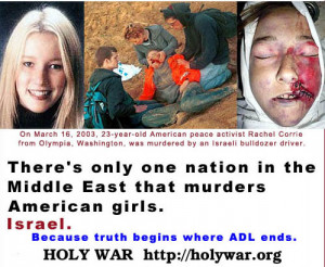 Rachel Corrie's family sues Israel