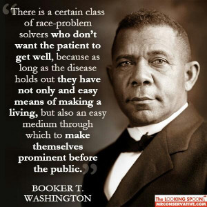 There are people who do not want The Racial problems to go away, they ...