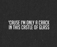 castle of glass. linkin park
