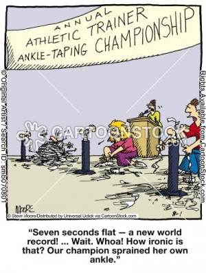 Athletic Trainer Cartoons and Comics