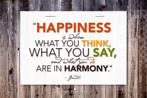 ... else you want to tell us i m big on quotes i read a quote from gandhi
