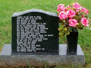 Thread: Unusual Graves, Tombstones and Epitaphs