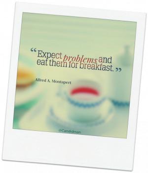 ... breakfast alfred a # montapert # inspirational # quotes vía candidman