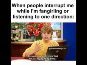One Direction Fangirl Funny
