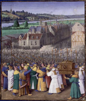 Art and the Bible home » art » work by Jean Fouquet