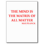 max planck quote post cards