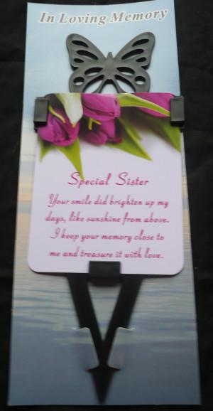 Sister Teddy Memorial | Sister Memorial Stones