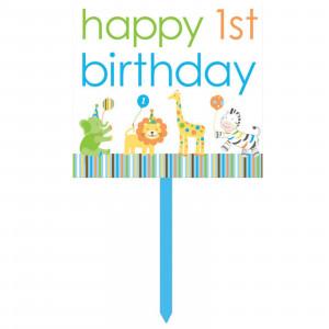 Happy 1st Birthday Boy For - happy 1st birthday