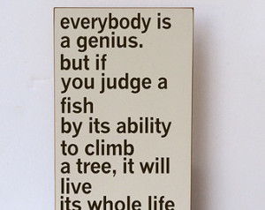 Genius-Inspirational Quote-Classroom Decor-Home Decor-Nursery Decor ...