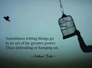 Learning to Let Things Go