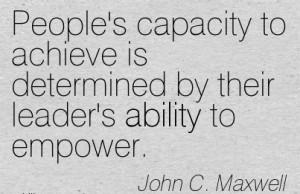 John C Maxwell Quotes