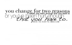 change,learn,quotes,hurt,moving,on,quote ...