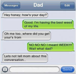 Spongebob Funny Weed Quotes Dad weed
