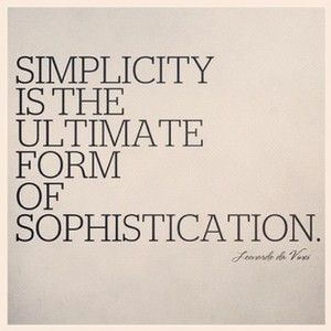 ... quotes #simplicity #quote #fashion #style #simple #leonardodavinci