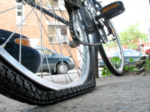 ... . Before you pump up your tires, let's check a few things first