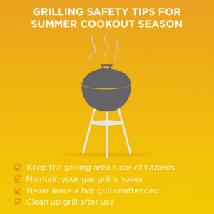 Grilling Safety Tips for Summer Cookout Season