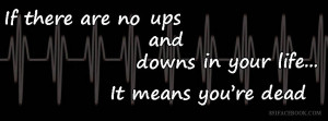 quotes ups and downs life facebook timeline cover photo banner for fb ...