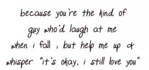 It's not easy to find that someone, really.